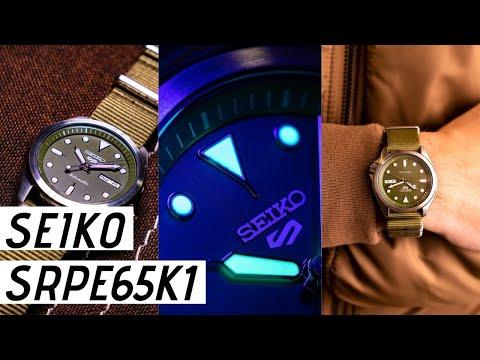 Seiko 5 Sports SRPE65K1 Watch Review