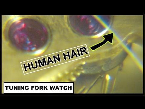 The amazing Bulova Accutron watch filmed in microscopic slow motion