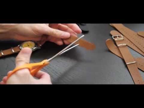 Leather NATO - Trimming & Installing