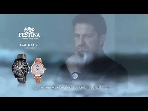 Festina TV Spot 2018 - feat Gerard Butler (English subtitles)