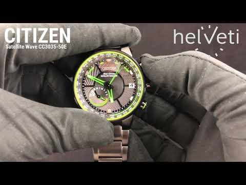 HODINKY MĚSÍCE: Citizen Satellite Wave CC3035-50E