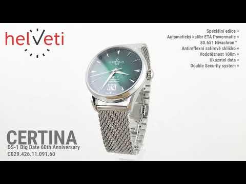 Certina DS-1 Big Date 60th Anniversary C029.426.11.091.60