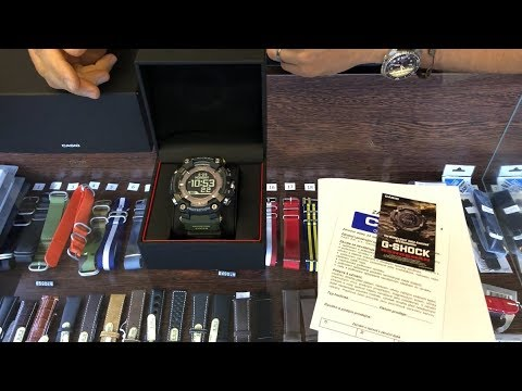 UNBOXING / PREVIEW: Casio G-Shock GPR B1000-1B Rangeman