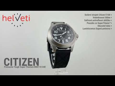 Citizen Promaster Tough Super Titanium BN0118-04E