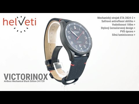 Victorinox AirBoss Mechanical Black Edition 241720