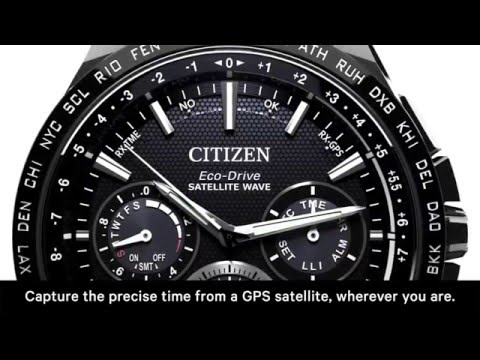 Eco Drive SATELLITE WAVE GPS watches
