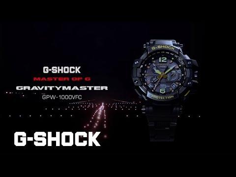 CASIO GRAVITYMASTER GPW 1000VFC Promotion Video