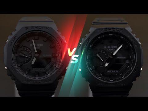 How to identify FAKE CasiOak G-Shock GA-2100-1A1? | Don't buy it!
