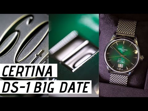 Certina DS-1 Big Date Watch Review