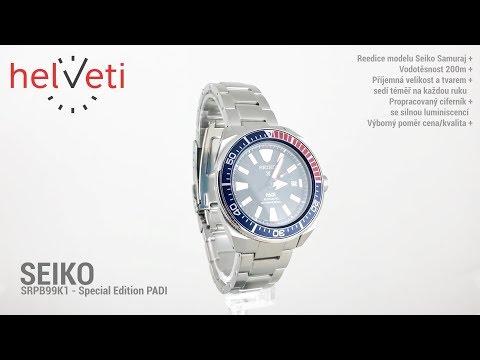 Seiko SRPB99K1 - Special Edition PADI