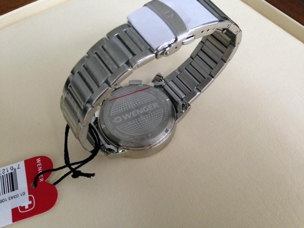 Nové dýnko hodinek Wenger