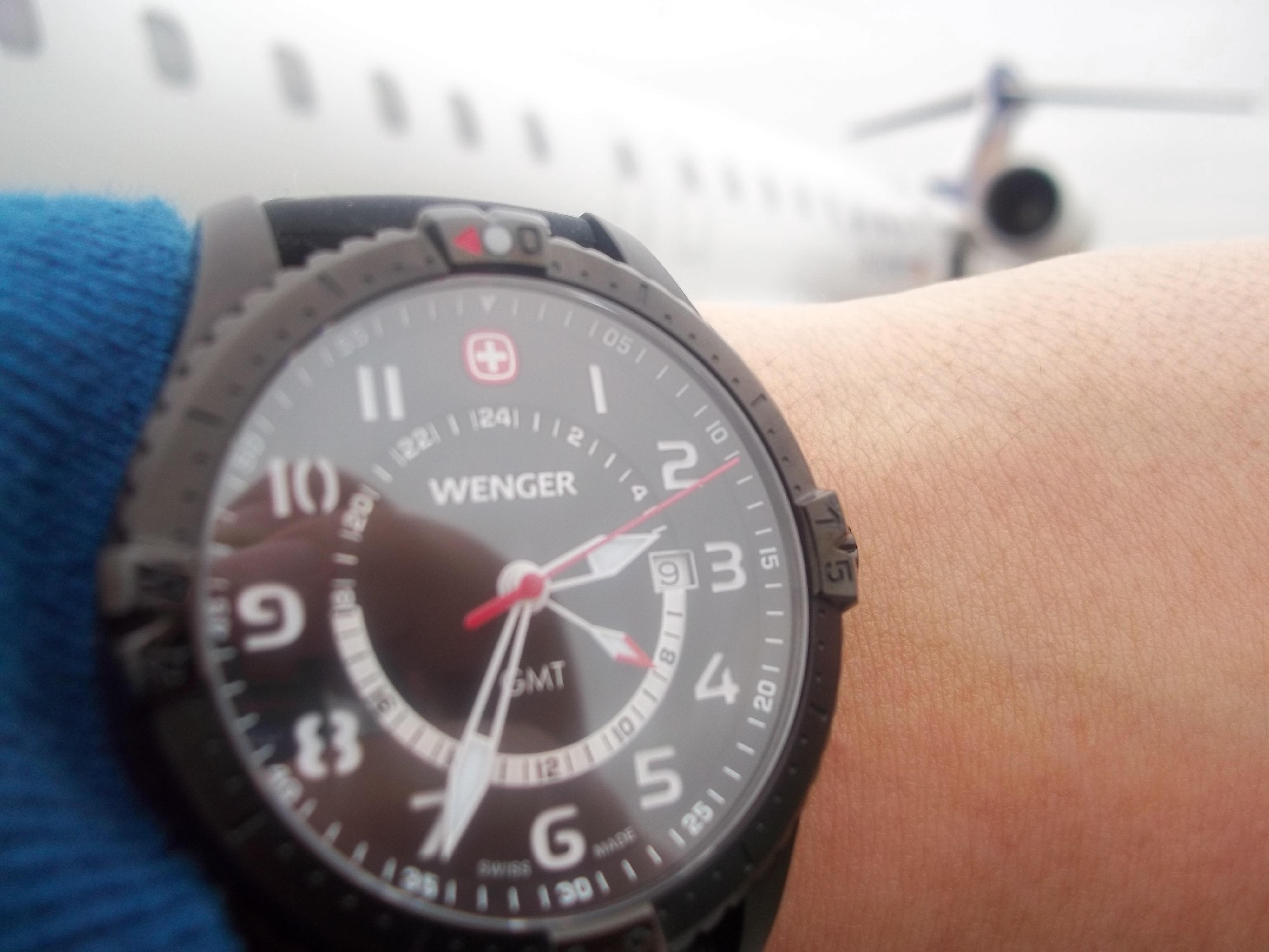 4428797ba Hodinky Wenger Squadron GMT 77073 na cestě po USA   Blog.Helveti.cz