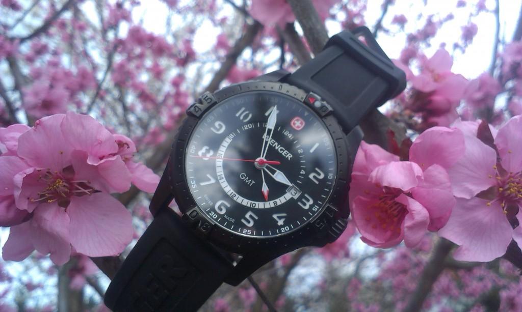 Pánské hodinky Wenger Squadron 77073 na cestě po USA