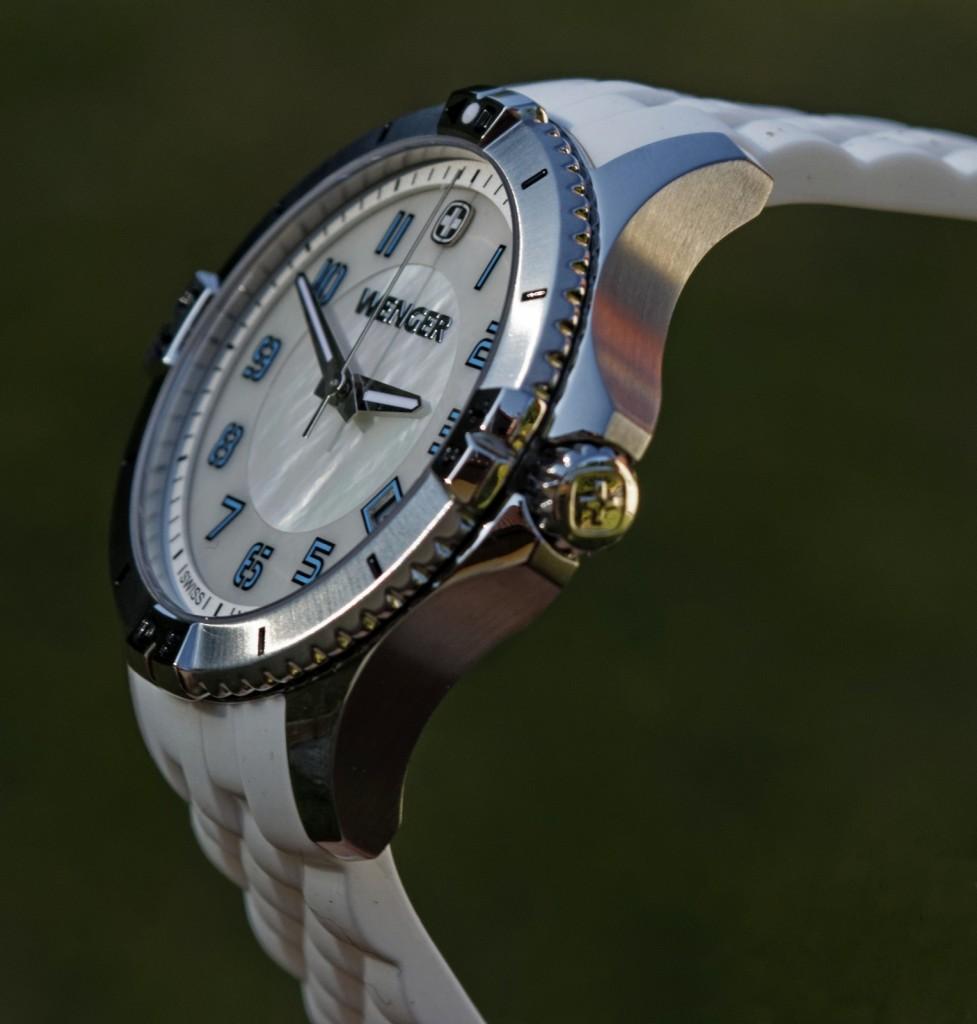 Wenger Squadron Lady bílá perleť - sklíčko