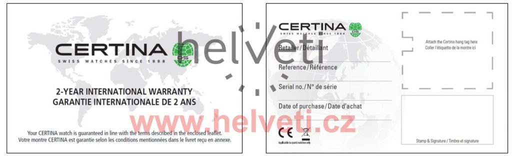 certina-guarantee-zaruka
