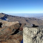 Hodinky Wenger Sea Force na samotném vrcholu hory Mulhacén