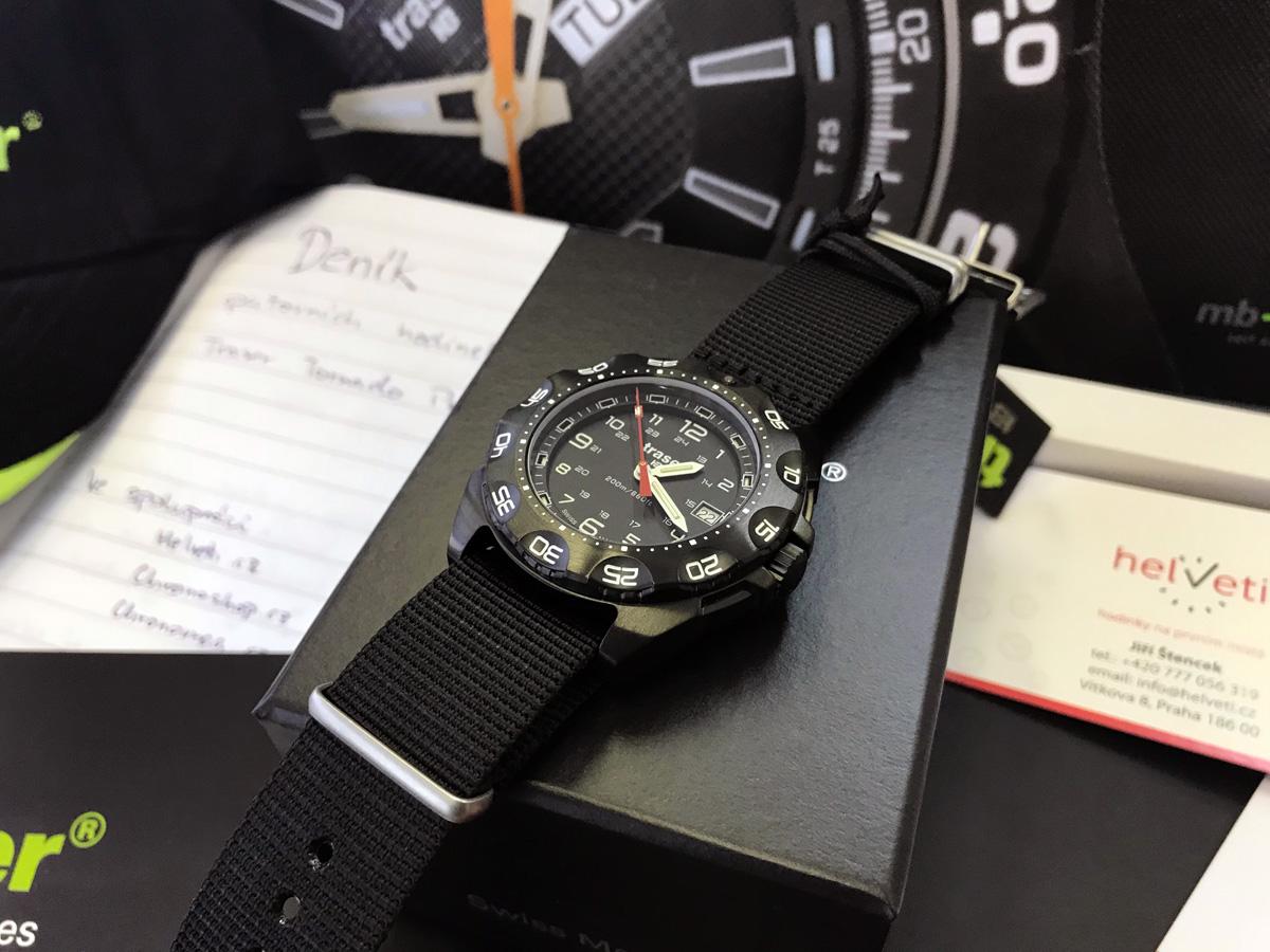 Putovní hodinky Traser Tornado Pro  ac24d84526