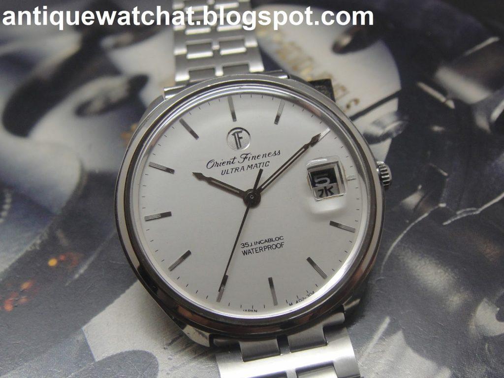 Orient Fineness - toho času nejtenčí hodinky na světě