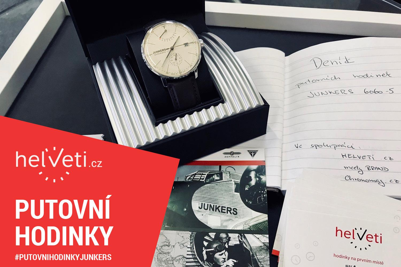 Putovní hodinky Traser a Davosa stále cestují mezi jednotlivými testery a  my posíláme do světa další hodinky. Tentokrát jde o německé hodinky Junkers. 1afdf823e7