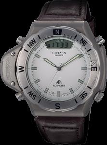 Hodinky Citizen Altichron z roku 1989