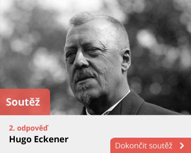 Odpověď Hugo Eckener i s fotkou