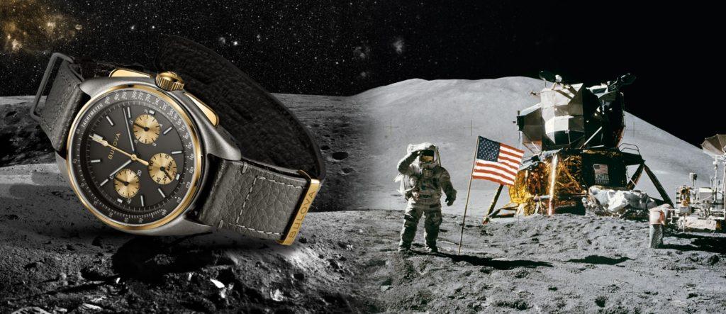 Limitovaná edice Bulova Lunar Pilot k 50. výročí hodinek Bulova na Měsíci.