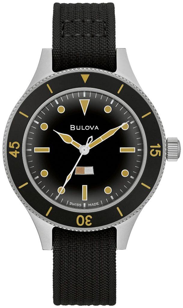 Limitovaná edice hodinek Bulova Mil-Ships 98A265