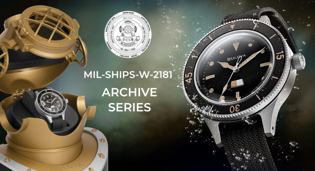 Bulova Mil-Ships Limited Edition, Archive Series